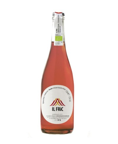 Il Fric Aglianico rosato spumante sui lieviti Casebianche N.V.