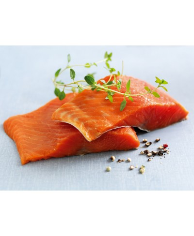 Tranci di Sockeye salmone selvaggio 4 x 200 gr