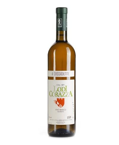 Il dissidente vino bianco macerato - Lodi Corazza 2018