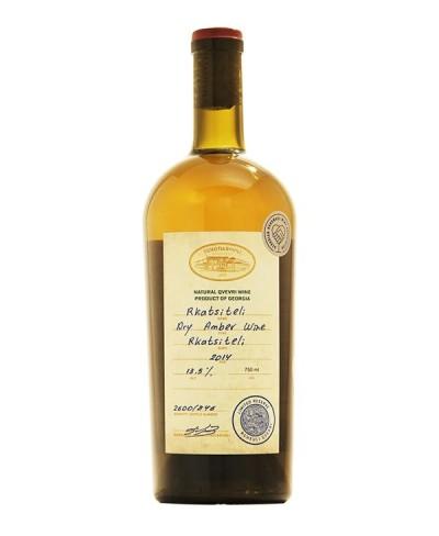 Rkatsiteli Riserva vinificazione in anfora - Tchotiashvili Georgia 2014